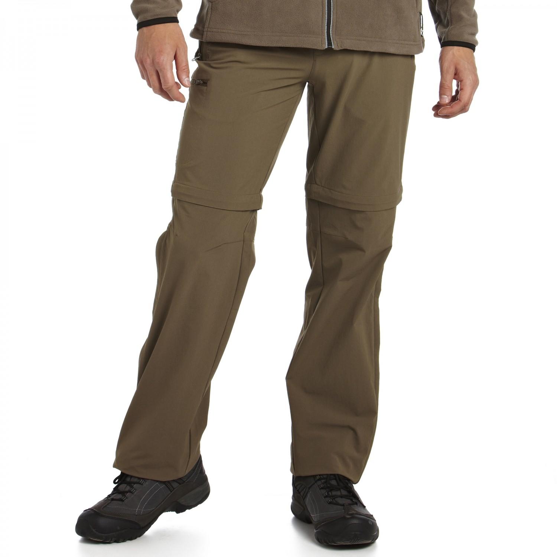 Regatta Xert Stretch Z/O Trousers Herren Zip Hose Normalgröße Wanderhose