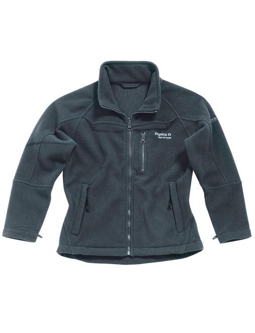 Regatta Kinder Zip in Fleece Jacke Gr. 104 einzippbar grau