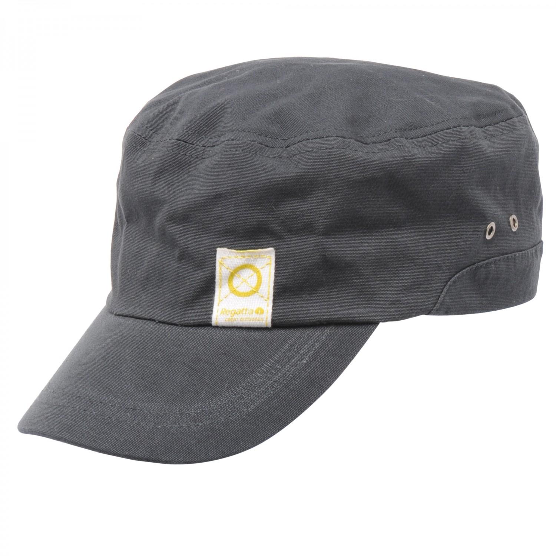 Regatta Helny Mens Hat Basecap Herren Mütze grau und beige