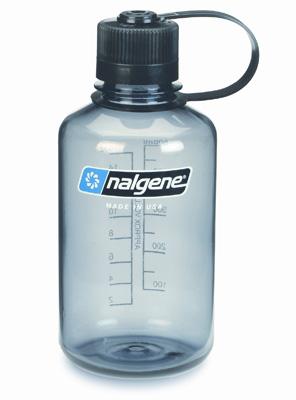 """Nalgene Flasche Trinkflasche 0,5l grau  """"Everyday"""""""