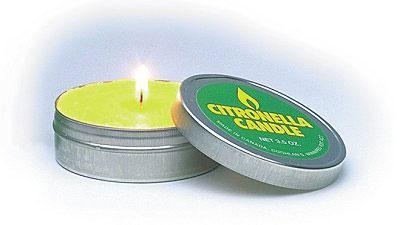 Coghlans Citronella Kerze Zitronenduft Candle hilft Insekten fernzuhalten