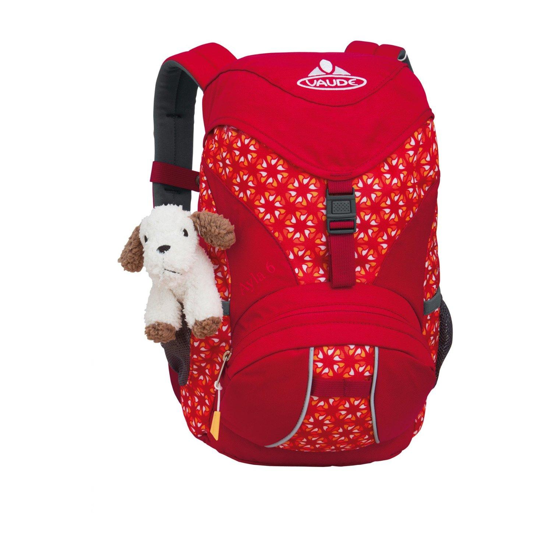 vaude ayla 6 rucksack kinder kinderrucksack red mandarine print. Black Bedroom Furniture Sets. Home Design Ideas