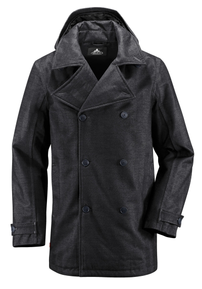Vaude Mens Mandal Coat Herren Winter Mantel schwarz