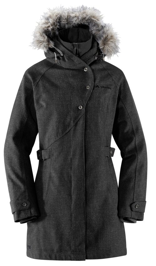 Vaude Womens Kalmara Coat schwarz Damen Winter Jacke Mantel