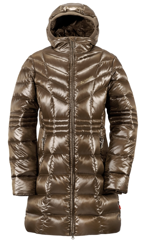 Vaude Womens Tatilek Coat earth Damen Daunen Mantel