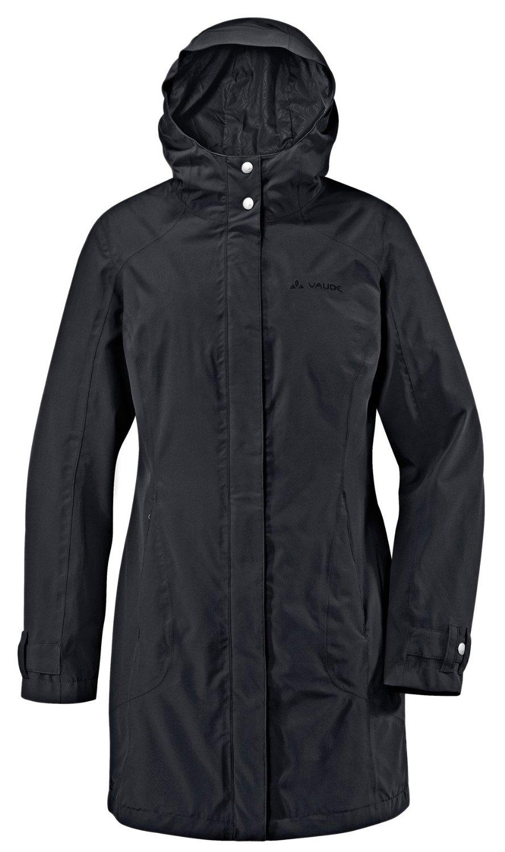 VAUDE Womens Sina Coat II Damen sportlicher Kurzmantel schwarz