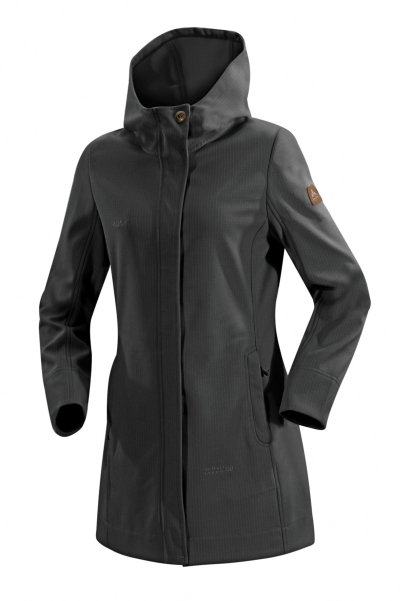 vaude womens belize jacket damen softshell mantel schwarz. Black Bedroom Furniture Sets. Home Design Ideas