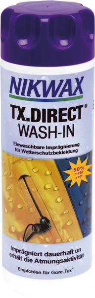 Nikwax TX Direct einwaschbare Imprägnierung 53,17€/l
