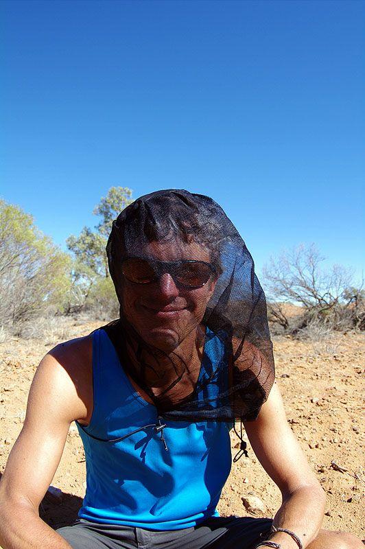 Brettschneider Moskito Kopfnetz mit Fixierung (neu) Moskitoschutz klein verpackt