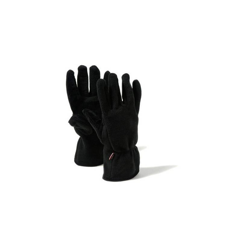 F.LLI Campagnolo Fleece Handschuh Fingerhandschuh schwarz
