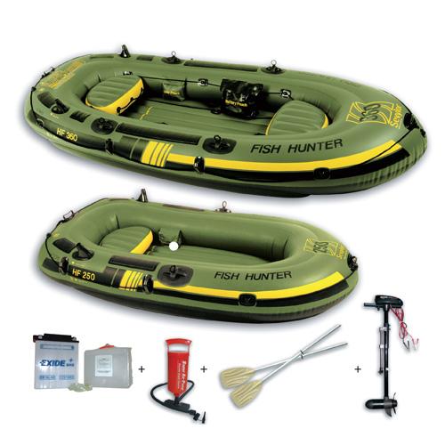 Sevylor fish hunter hf 250m schlauchboot boot set ebay for Coleman s fish