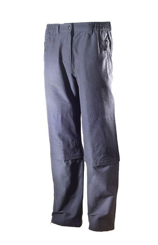 hot-sportswear Bursa Damen Zipp Hose@Capri anthrazit