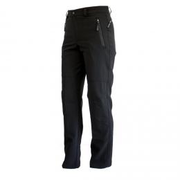 hot-sportswear Herren Softshell Hose Bilbao schwarz windabweisend