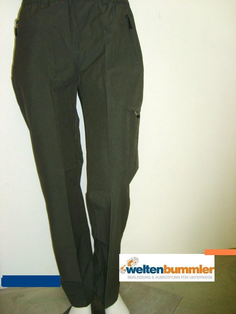 hot-sportswear Damen Freizeit Wander Hose BENIA khaki Gr. 36