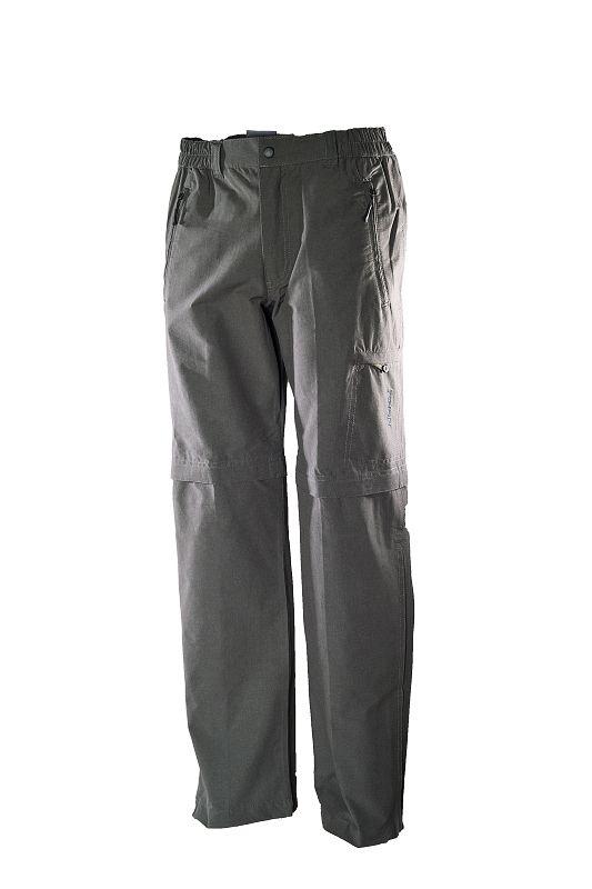 hot-sportswear Berlin khaki Herren Freizeit Wander Hose mit Zip