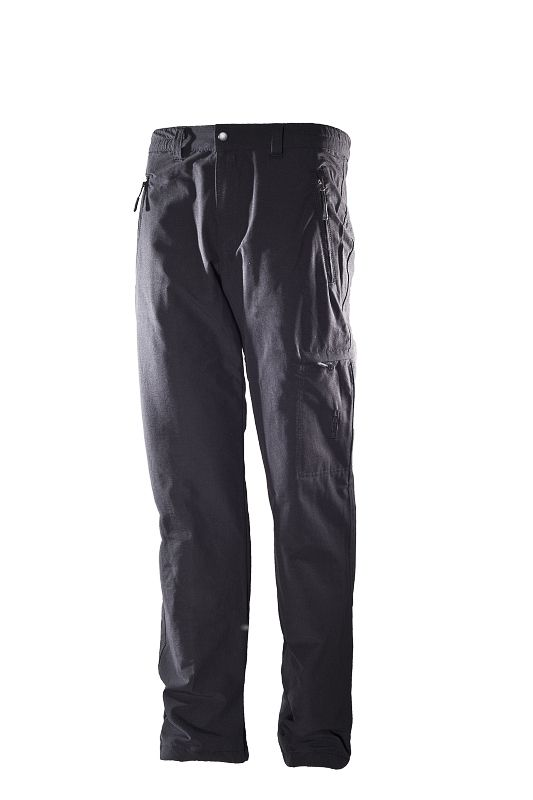 hot-sportswear Thermo Kids black Kinder Thermohose mit Windfang