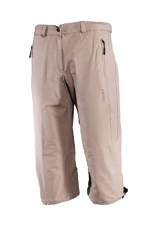 hot-sportswear Sienna sand Damen Caprihose Wanderhose Freizeithose