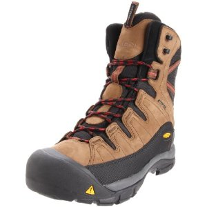 KEEN Summit County Herren Winter Wanderschuh Stiefel braun