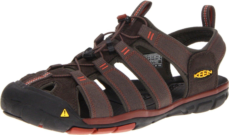 9f2077c3230354 keen herren sandalen Keen Clearwater CNX Herren Sandale raven  burnt henna
