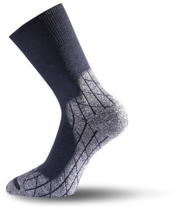 Lasting TRW 522 Trekking Wander Outdoor Socke blau