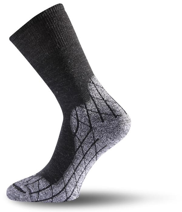 Lasting TRW 816 Trekking Wander Outdoor Socke schwarz