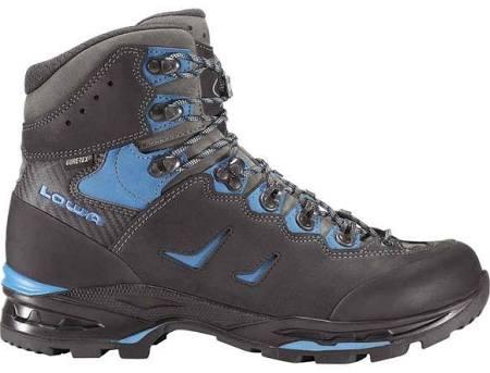 Lowa Camino GTX Herren Trekking Wander Schuhe schwarz/blau