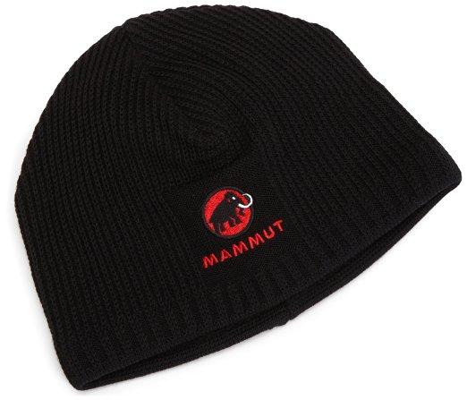 Mammut Sublime Beanie black feinmaschige Strickmütze schwarz