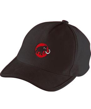 Mammut Baseball Cap Mammut black-fire Schildmütze schwarz