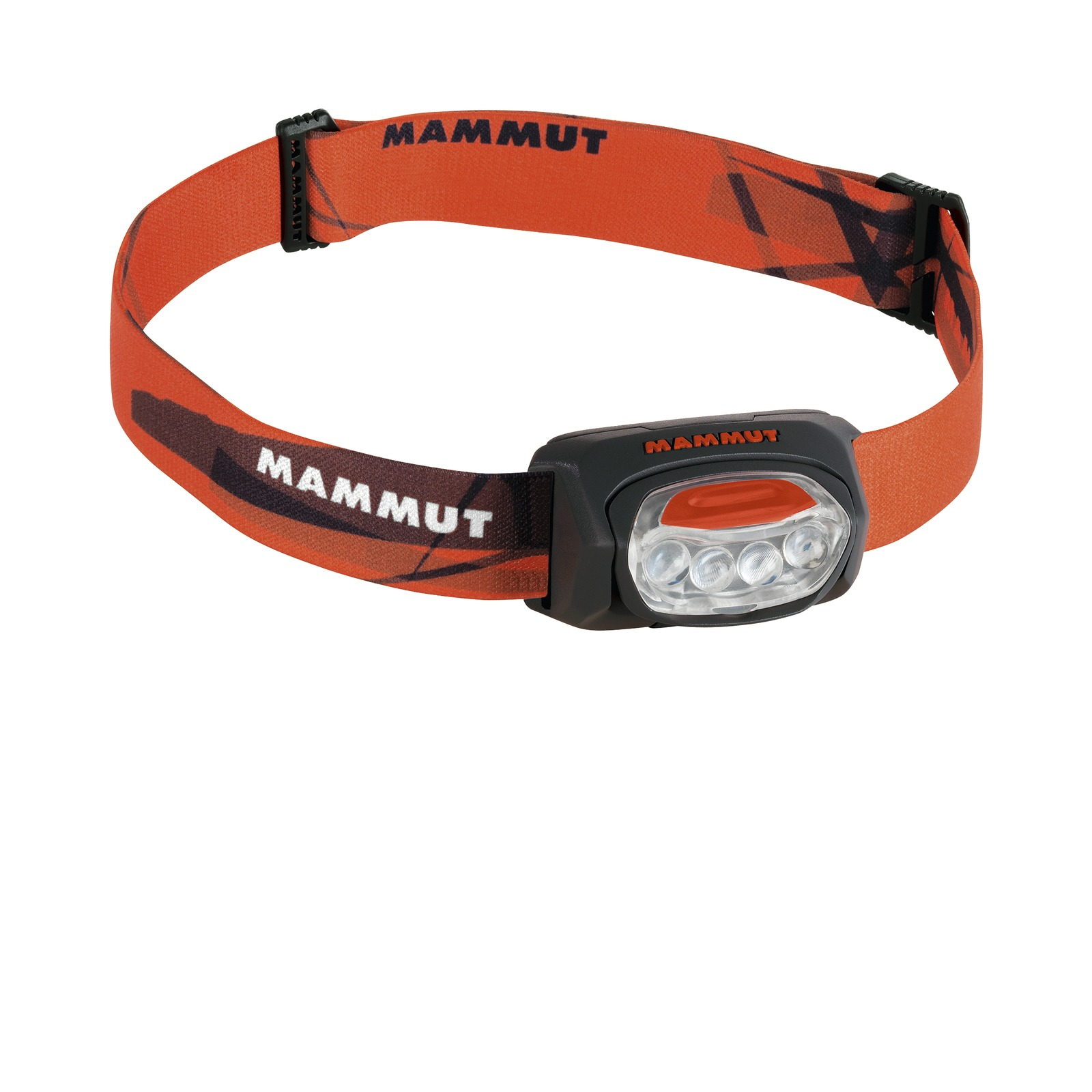 Mammut T-Trail black Stirnlampe 4 LEDs