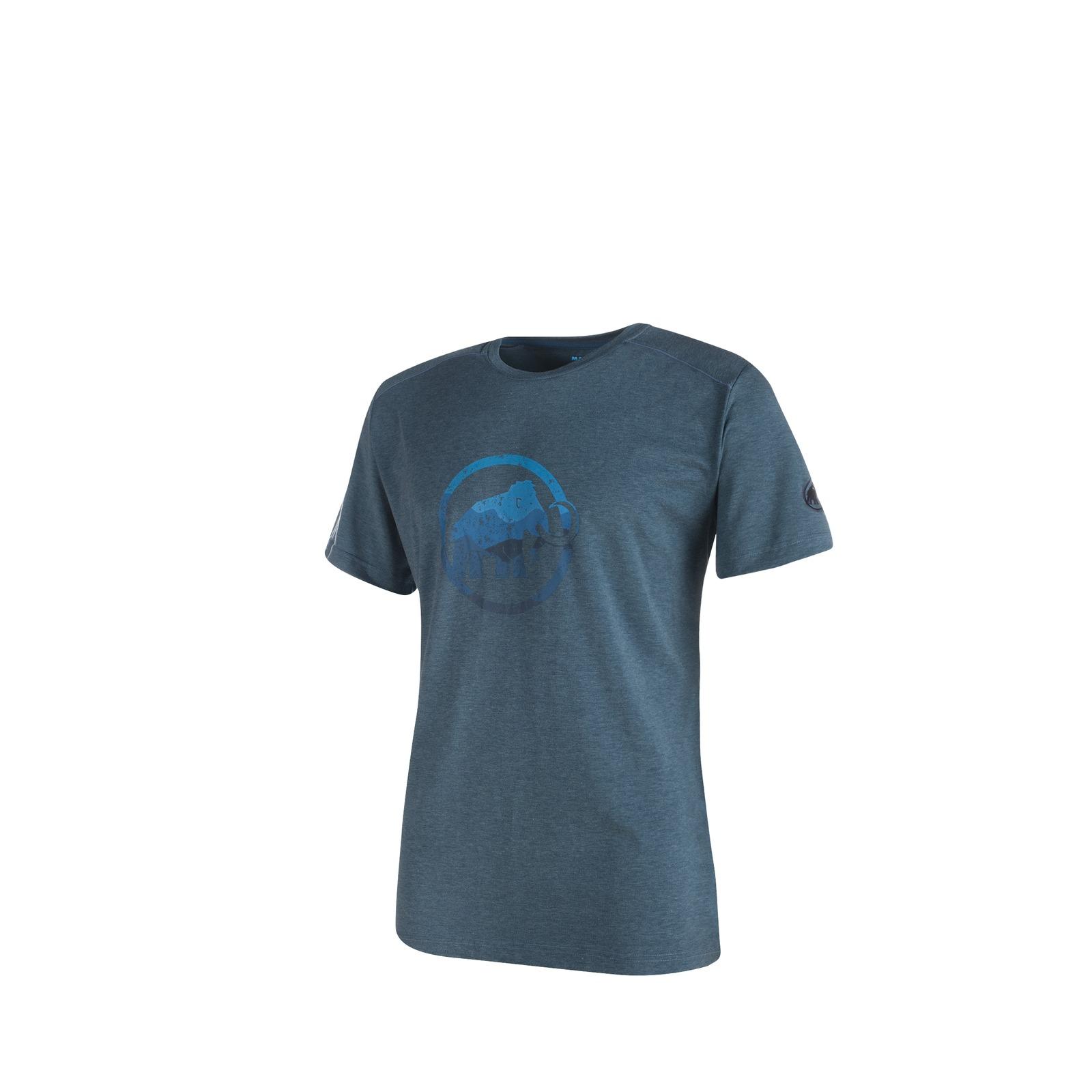 Mammut Trovat Shirt Men orion melange Herren Funktionsshirt blau