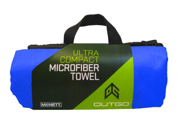 McNett Mikrofaserhandtuch cobalt blue Reise Trekking Handtuch
