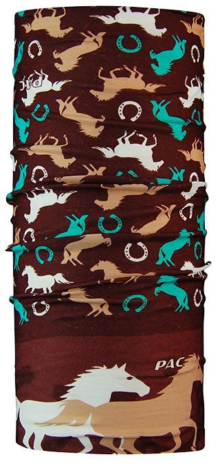P.A.C. Kids Red Horse Multifunktionstuch Halstuch für Kinder