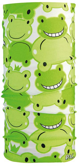 P.A.C. Kids Happy Frog Multifunktionstuch Halstuch für Kinder