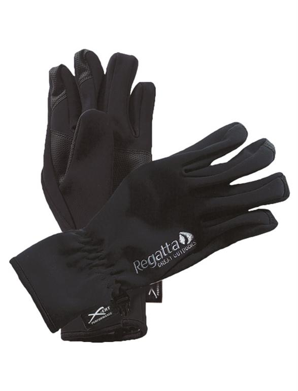 Regatta MG108 winddichte wärmende Handschuhe Softshell Gloves