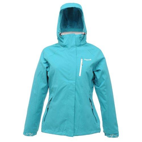 Regatta Afterall aqua Damen 3in1 Jacke Doppeljacke blau