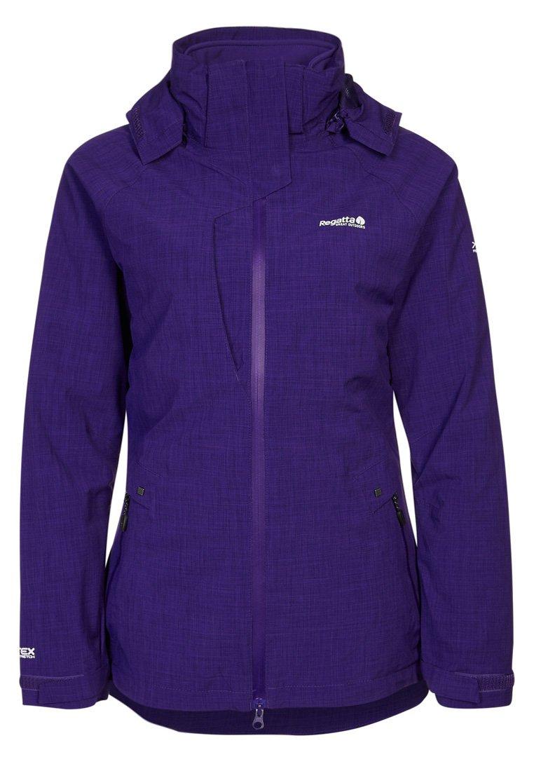 Regatta Amorette rum Damen 3in1 Jacke Doppeljacke violett