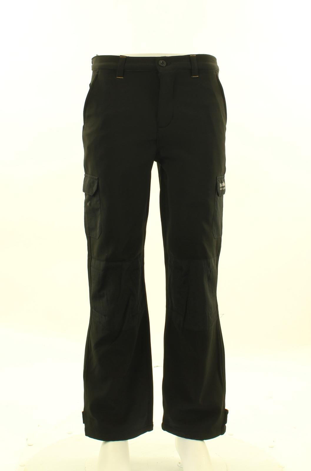Regatta Winter Softshell Trousers Softshellhose für Kinder gefüttert schwarz