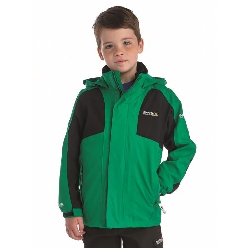 Regatta Flume  Kinder 3in1 Jacke grün Funktionsjacke AKTION!!!