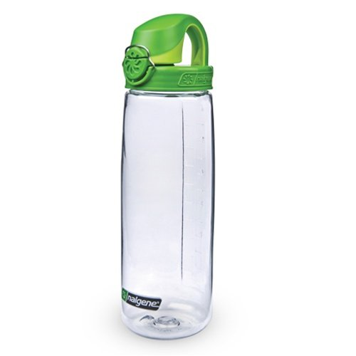Nalgene Everyday OTF Trinkflasche Einhand Druckverschluß klar