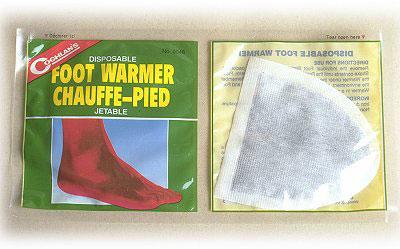 Coghlans Fußwärmer Zehenwärmer Foot Warmer 1 Paar