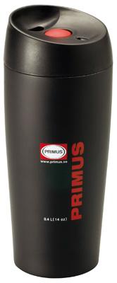 Primus Thermobecher Edelstahl schwarz Trink Becher 0,4l