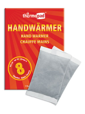 Relags Thermopad Handwärmer Taschenwärmer 2 Stück
