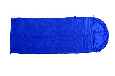 Relags Inlett Schlafsack Hüttenschlafsack Seide Decke blau