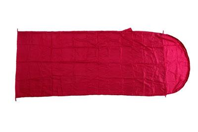 Relags Inlett Schlafsack Hüttenschlafsack Seide Decke rot