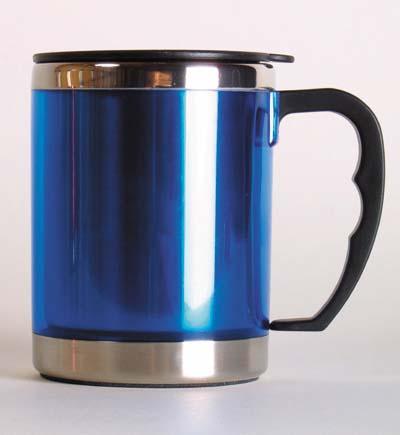 Relags MUG blau Thermobecher Trinkbecher Becher