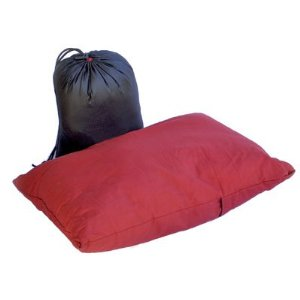 Basic Nature Reisekissen travel pillow 40x30cm rot