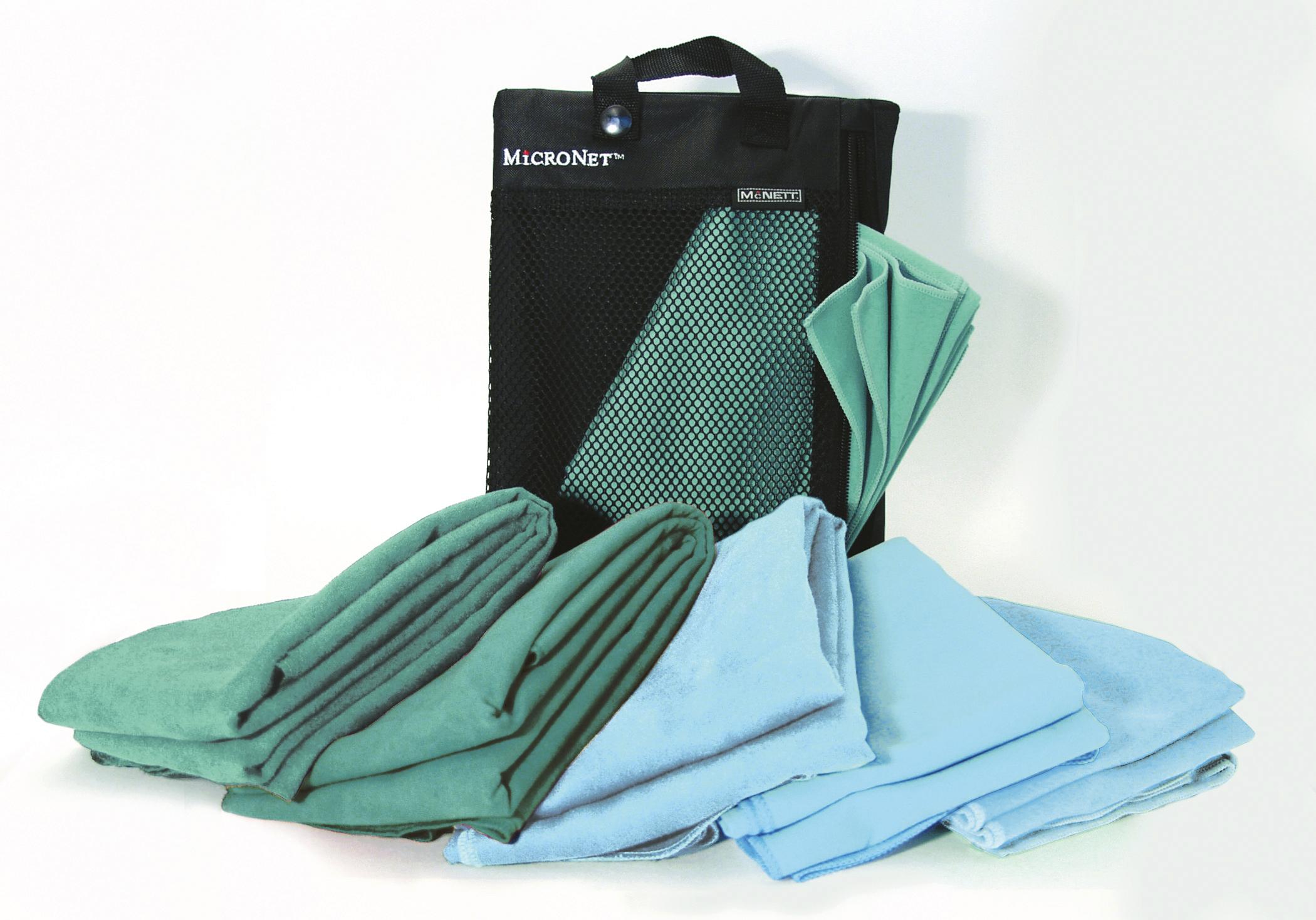McNett Microfaser Handtuch Sea Foam Grün Reisehandtuch schnelltrocknend