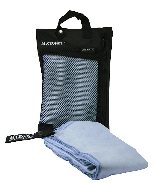 McNett Microfaserhandtuch sky blue Reisehandtuch platzsparend