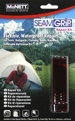 McNett SeamGrip Instant Repair Kit für schnelle Zeltreparaturen