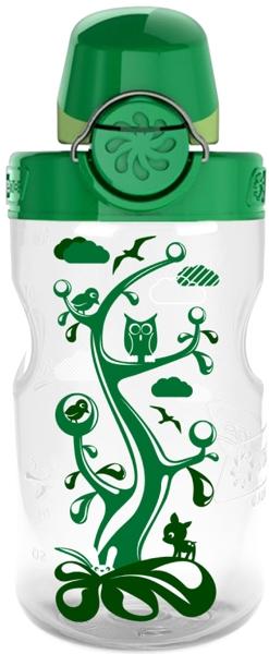 Nalgene Trinkflasche OTF Kids Kindertrinkflasche transparent 0,375l